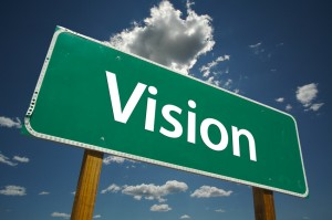 Street sign, Vision