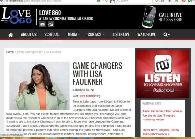 Game Changers radio show
