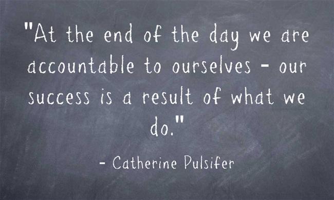 quote regarding accountability